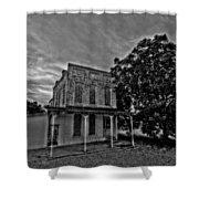 Cotton Office Shower Curtain