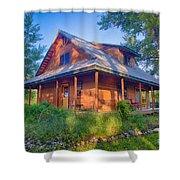 Cottonwood Cottage  Shower Curtain