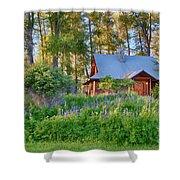 Cottonwood Cottage Spring 2014 Photographs Taken By Omaste Witko Shower Curtain