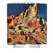 Cottonwood Narrows Side Show Shower Curtain