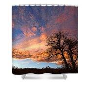 Cottonwood Sky Shower Curtain