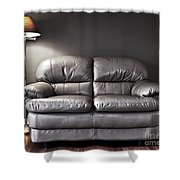 Couch And Lamp Shower Curtain