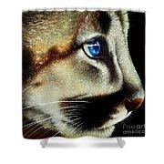 Cougar Cub Shower Curtain