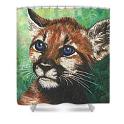 Cougar Prince Shower Curtain