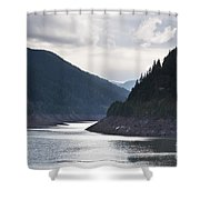 Cougar Reservoir Shower Curtain