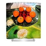 Coulouful Easter Shower Curtain