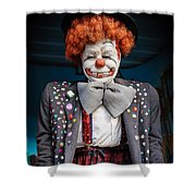 Coulrophobia Shower Curtain