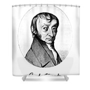 Count Amedeo Avogadro (1776-1856) Shower Curtain