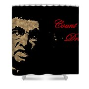 Count Dracula Visits Halifax Shower Curtain