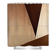 Counterpoint Shower Curtain by Rona Black