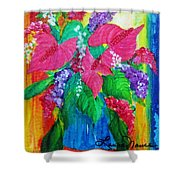 Countrified Exotic Shower Curtain