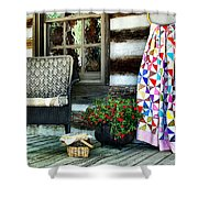 Country Accents Shower Curtain