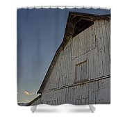Country Barn And Mt Ashland Shower Curtain
