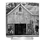 Country - Barn Country Maintenance Shower Curtain