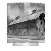 Country Barn Country Moon Country Shower Curtain