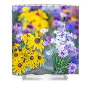 Country Blooms Shower Curtain