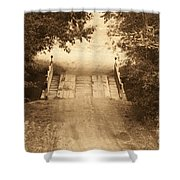 Country Bridge Shower Curtain