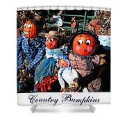 Country Bumpkins Shower Curtain