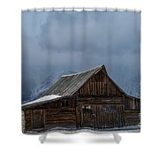 Country Christmas Shower Curtain