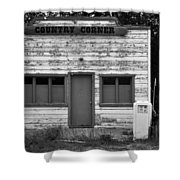 Country Corner Shower Curtain by David Lee Thompson