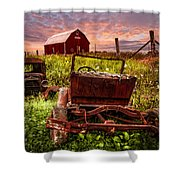 Country Cousins Shower Curtain