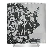 Country Dance Shower Curtain