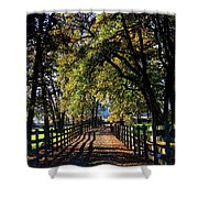 Country Drive Shower Curtain