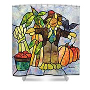 Country Fall Shower Curtain