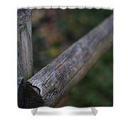 Country Fence Shower Curtain