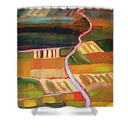 Country Fields Shower Curtain