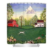 Country Frolic One Shower Curtain