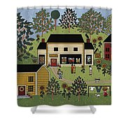 Country Gallery Shower Curtain