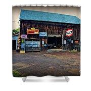 Country Garage Shower Curtain