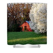 Country Gem Shower Curtain