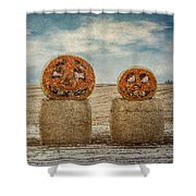 Country Halloween Shower Curtain