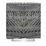 Country Heart Shower Curtain