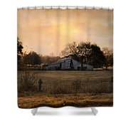 Country Heirloom Shower Curtain