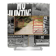 Country Hospitality Shower Curtain