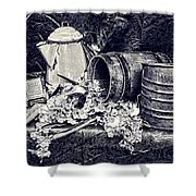 Country Kitchen II Shower Curtain