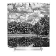 Country Lake 2 Shower Curtain