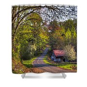Country Lanes Shower Curtain