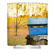 Country Letterbox Shower Curtain
