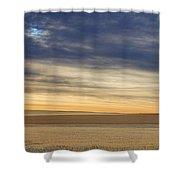 Country Morning Sky Shower Curtain