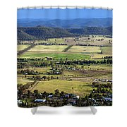 Country Panorama Shower Curtain