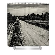 Country Road Take Me Home 1. Shower Curtain