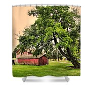 Country Scene Shower Curtain by Kathleen Struckle