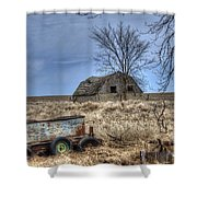 Country Scene Shower Curtain