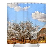Country Smell Shower Curtain