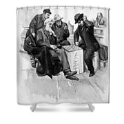 Country Store, 1906 Shower Curtain