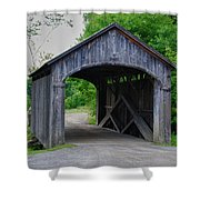 Country Store Bridge 5656 Shower Curtain